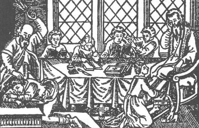 Средневековые нравы: проблемный ученик? Пороть, пороть, пороть...